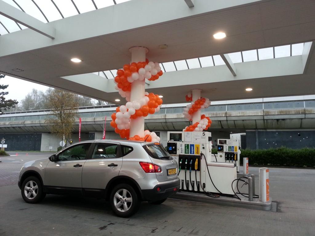 De Ballonnenkoning - ballonslinger - oranje wit
