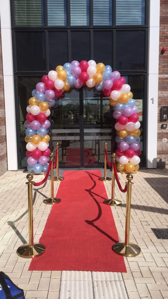 De Ballonnenkoning - ballonboog - pastelkleuren