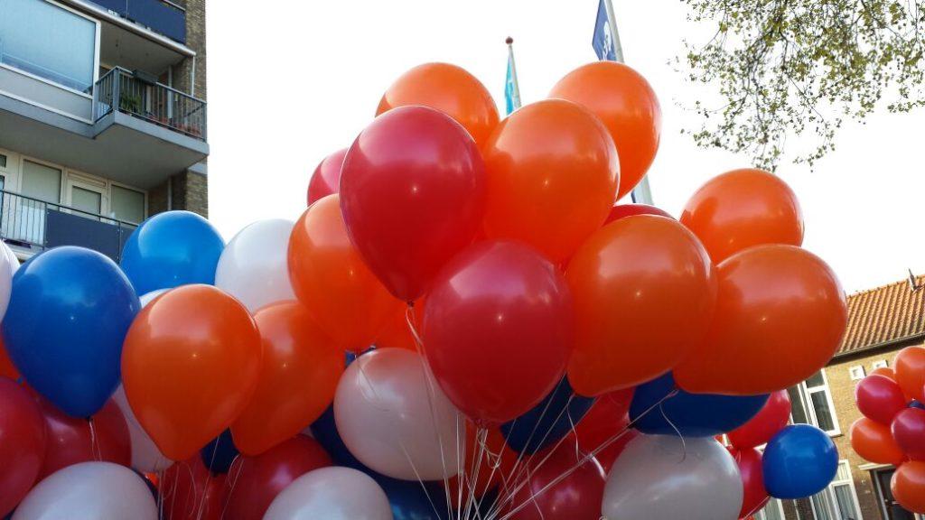 De Ballonnenkoning - Leveren ballonnen met eco lint