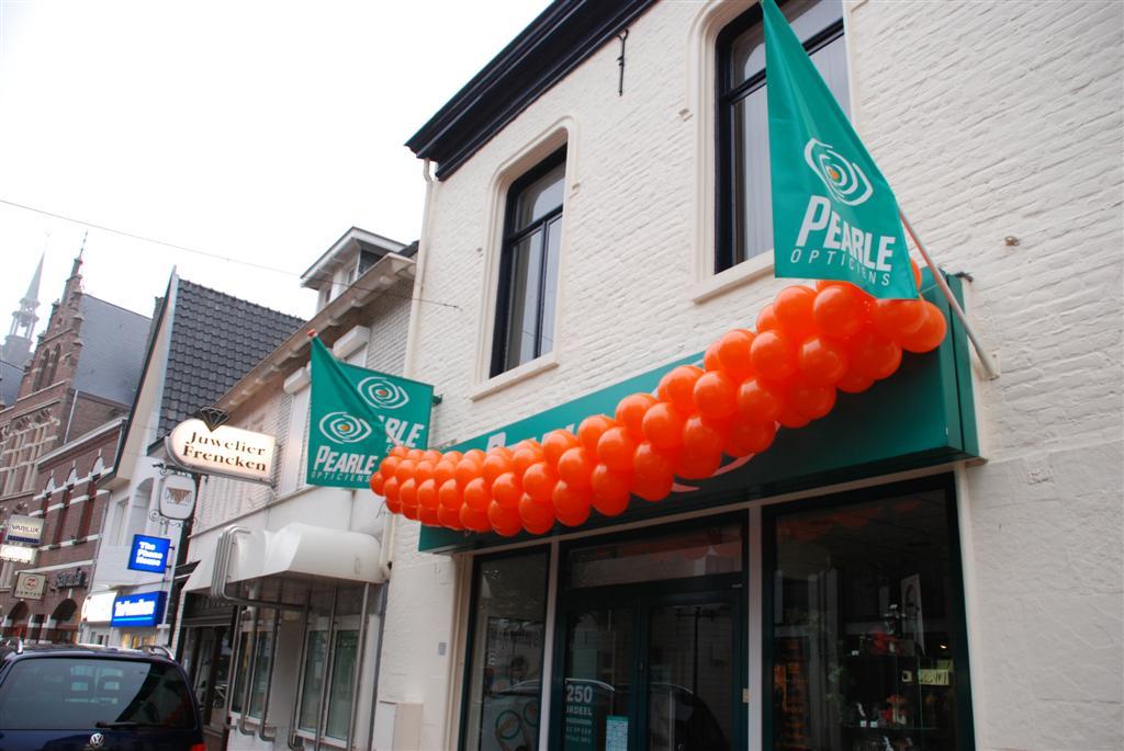 De Ballonnenkoning - ballonslinger - oranje