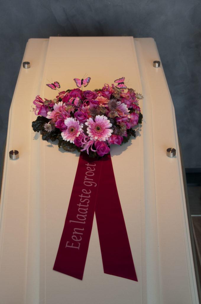 De Ballonnenkoning - uitvaart decoratie - bloemen