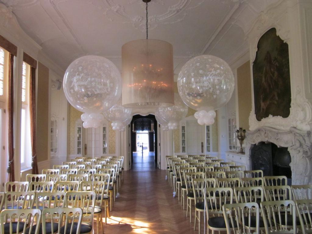 De Ballonnenkoning-Hooge-Vuursche-trouwzaal-topballonnen-wit