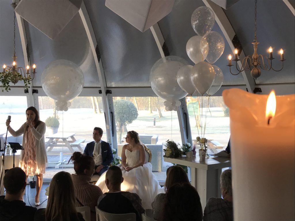 De Ballonnenkoning-Abel-ballonnen-trouwzaal trouwbeleving