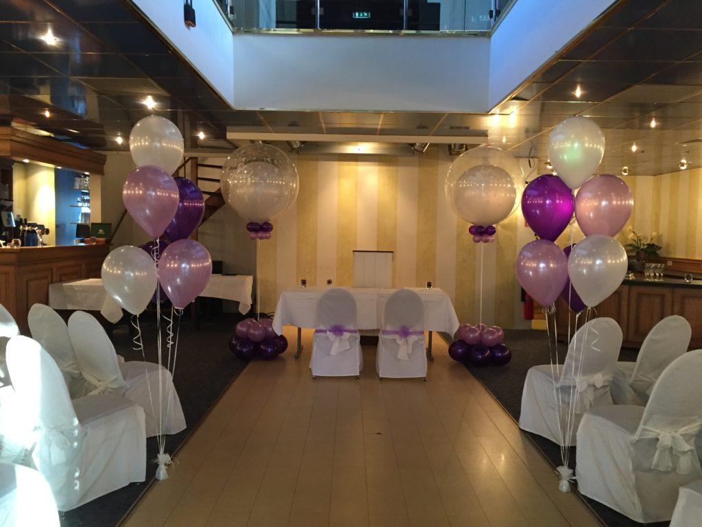 De Ballonnenkoning-Theetuin-Ridderkerk-ballonnen-heliumballonnen trouwceremonie