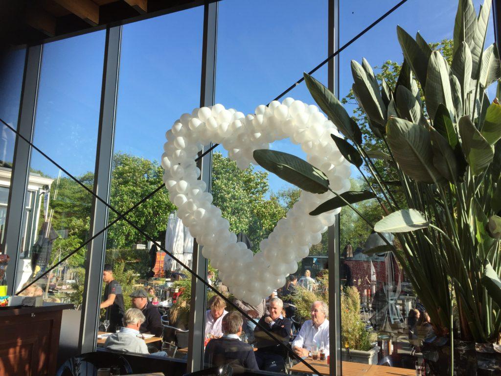 De Ballonnenkoning-de tuin rotterdam-ballonhart wit