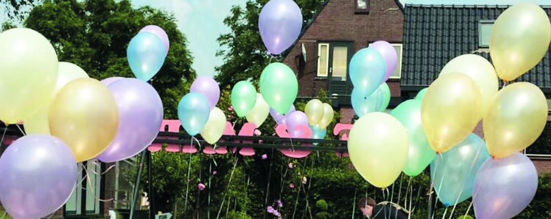 Heliumballonnen voor uw trouwerij als decoratie