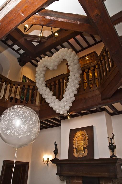 De Ballonnenkoning- Kasteel de Essenburgh- ballonhart trouwceremonie