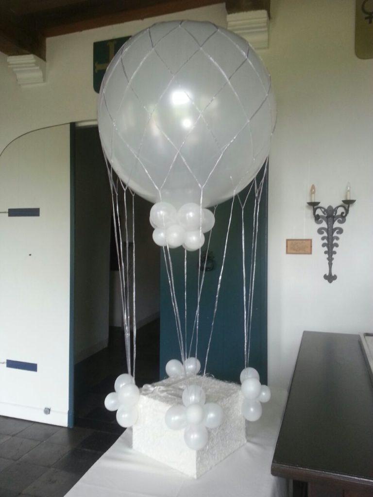 De Ballonnenkoning-Kasteel van Rhoon-ballondecoratie-enveloppendoos