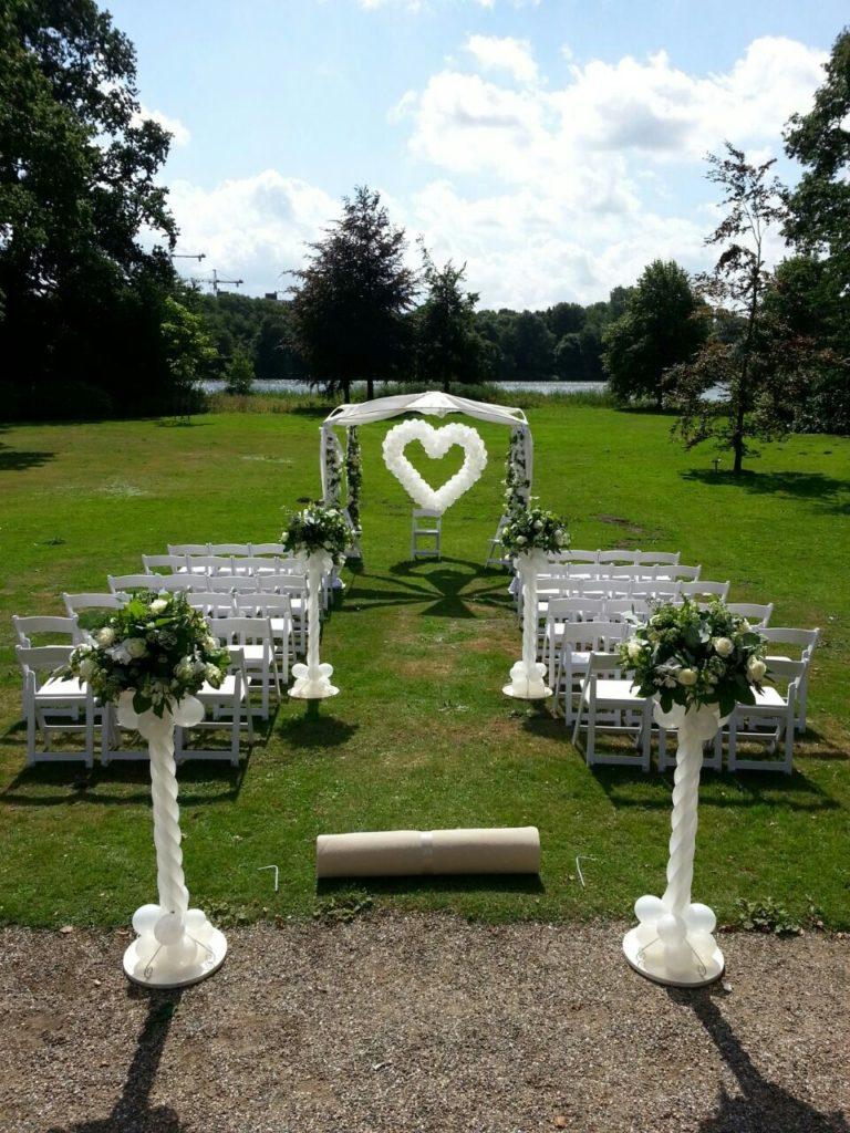 De Ballonnenkoning - Landgoed te Werve - prieel trouwen