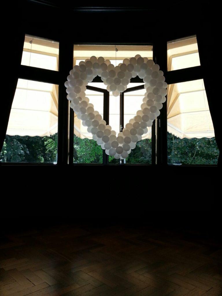 De Ballonnenkoning - Landgoed te Werve - trouwen ballonhart