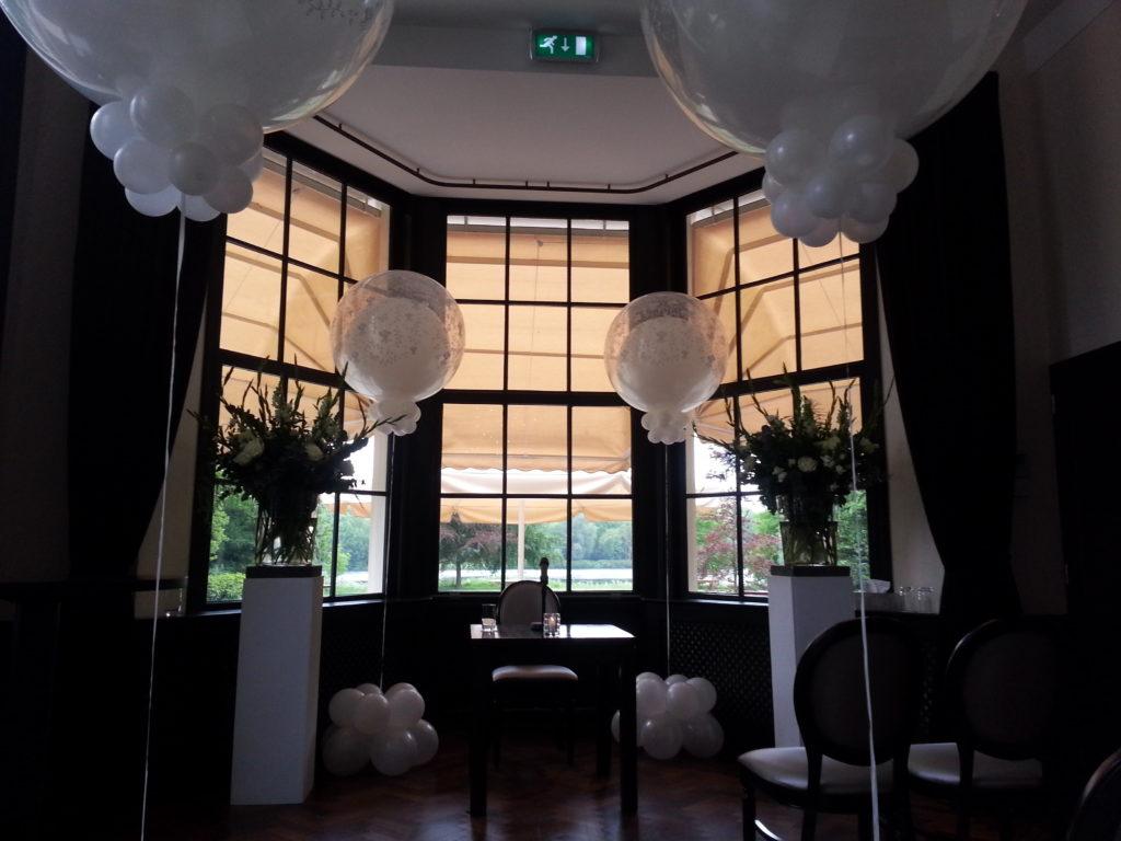 De Ballonnenkoning - Landgoed te Werve - trouwen ceremonie