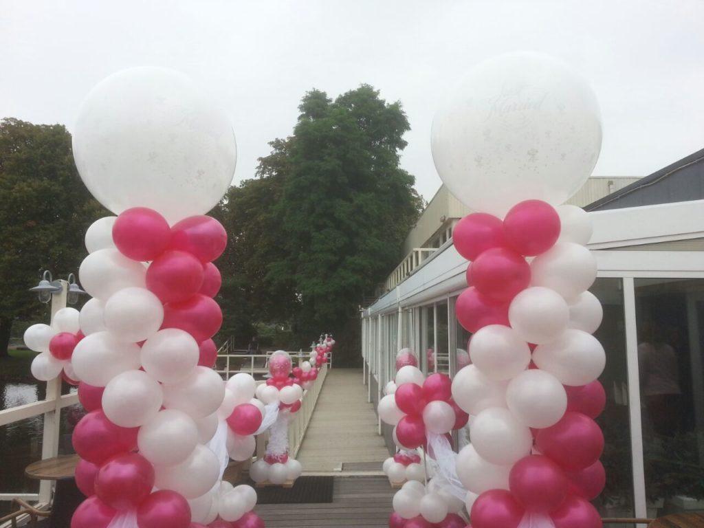 De Ballonnenkoning - Lommerijk - Ballonpilaren