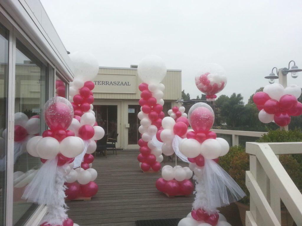De Ballonnenkoning - Lommerijk - Ballondecoratie entree