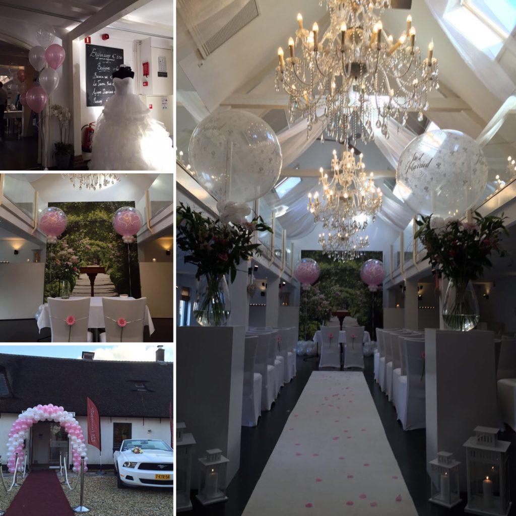De Ballonnenkoning - Witte Brug - decoratie locatie collage