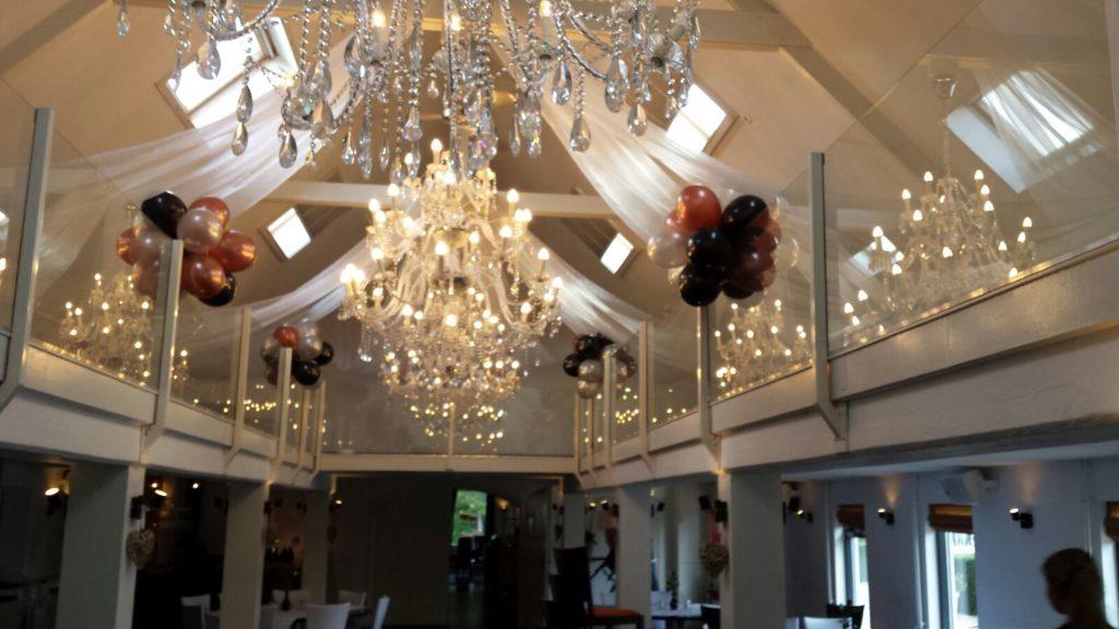 De Ballonnenkoning - Witte Brug - decoratie locatie ballontrossen