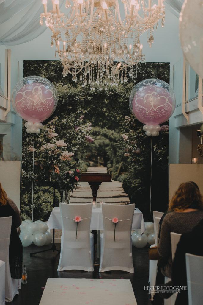 De Ballonnenkoning - Witte Brug - Trouwbeleving- decoratie trouwceremonie