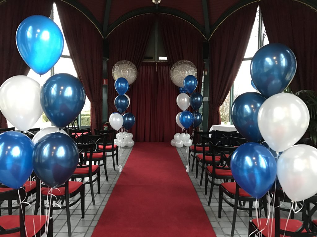 De Ballonnenkoning, Zalmhuis-Trouwopstelling-Orangerie