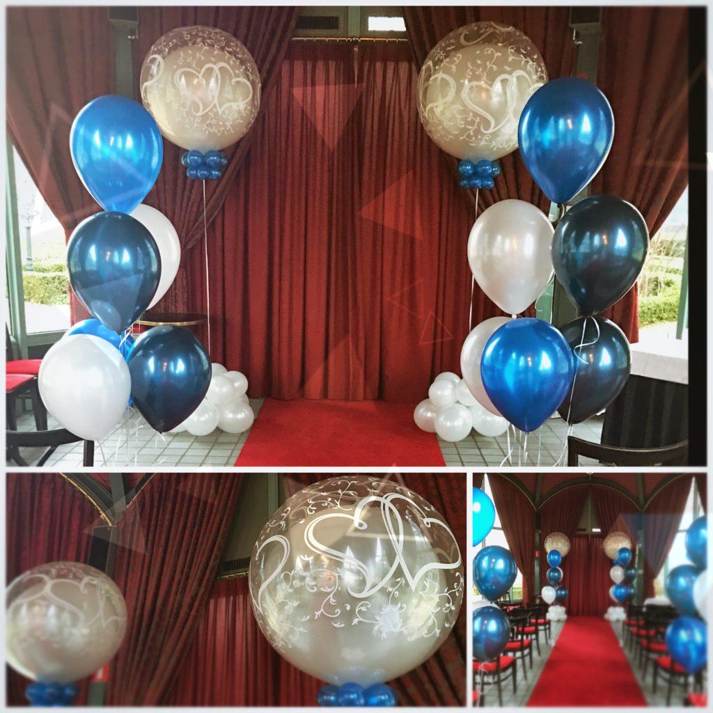 De Ballonnenkoning, Zalmhuis trouwceremonie
