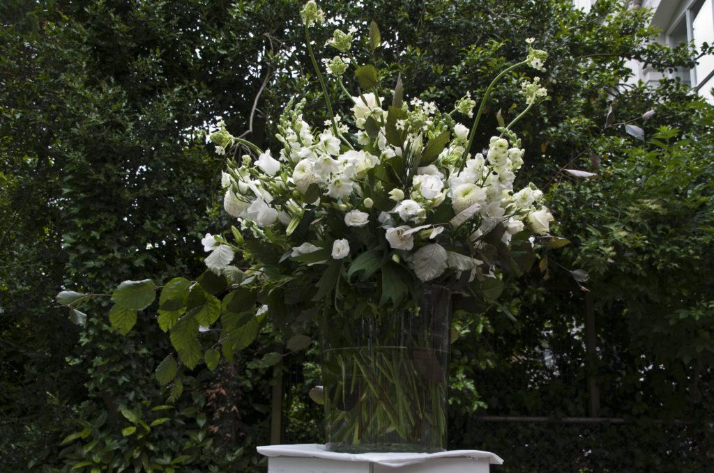 De Ballonnenkoning - Zweedse Kerk - trouwen bloemstukken
