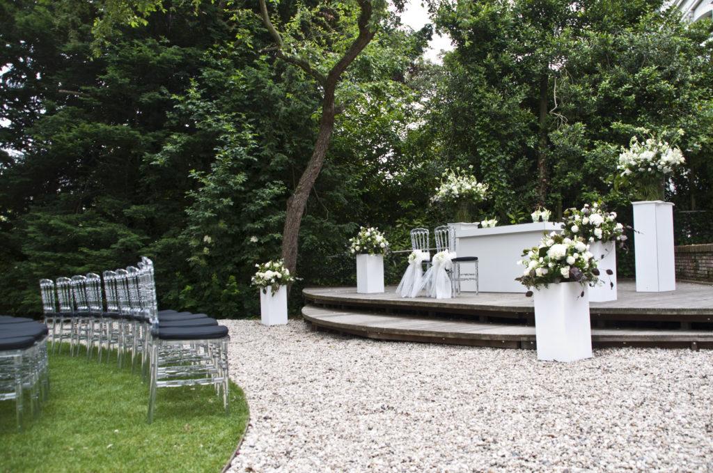 De Ballonnenkoning - Zweedse Kerk - trouwen opstelling trouwen standaard