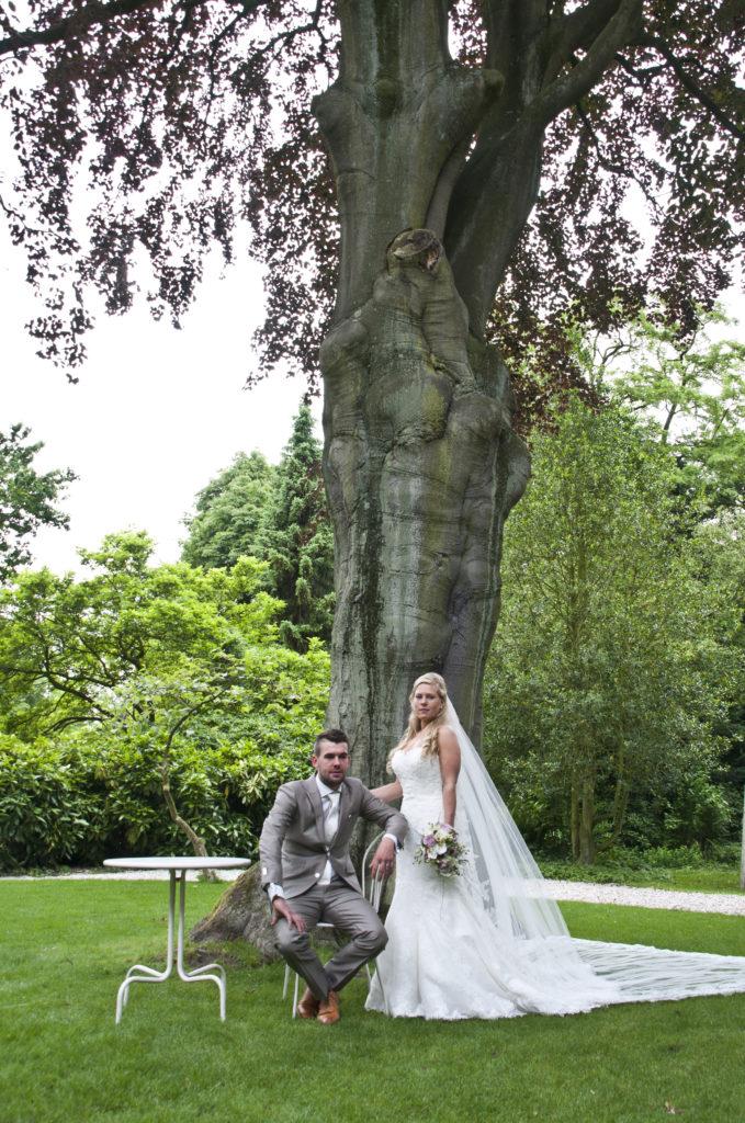 De Ballonnenkoning - Zweedse Kerk - trouwen bruidspaar - onze dank voor de foto 2