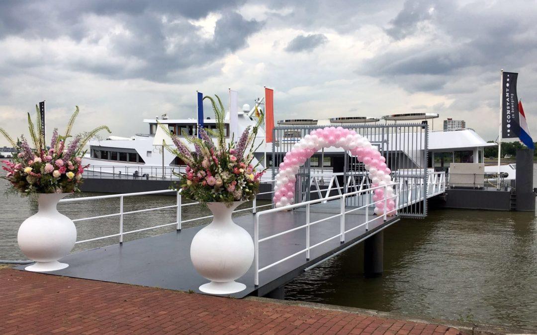 Ballonboog op uw bruiloft