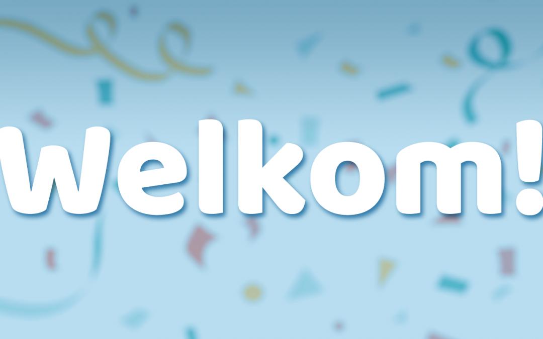 Welkom op onze nieuwe website!