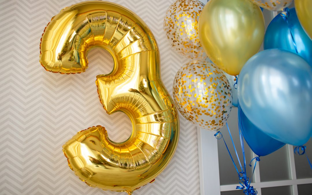 Ballonboeketten heliumgevuld